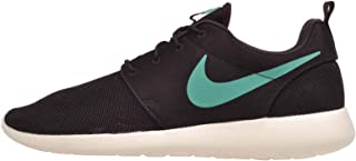 Mens Roshe One Rosherun Running Shoes Sneakers, Ash/Emerald Size 10.5 US