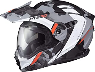 Scorpion EXO-AT950 Outrigger Dual Pane Adult Snowmobile Helmet - Matte Grey/Large