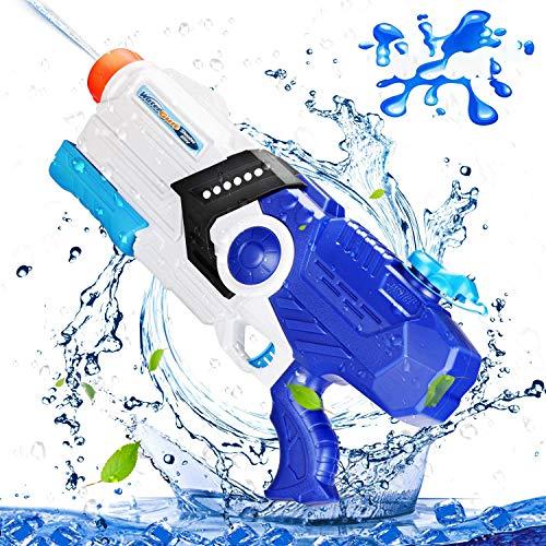 EPCHOO Wasserpistole, 2000ml Groß Water Blaster Water Gun Spielzeug mit 8-10 Meter Reichweite für Party Blaster Badestrand Sommer Pool Wasserschütze Wasserspielzeug