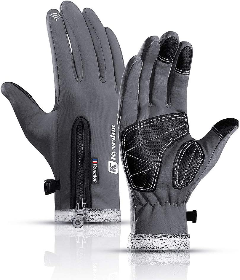 ESGTON Winter Gloves Windproof Touch Water Screen Resi Anti-Slip Excellence Some reservation