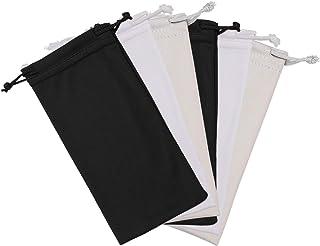 Hifot Microfiber lunettes de soleil Lunettes étui Pochette 6 Pack, Gadgets Nettoyage & Stockage Pouch Slip dans Lunettes étui