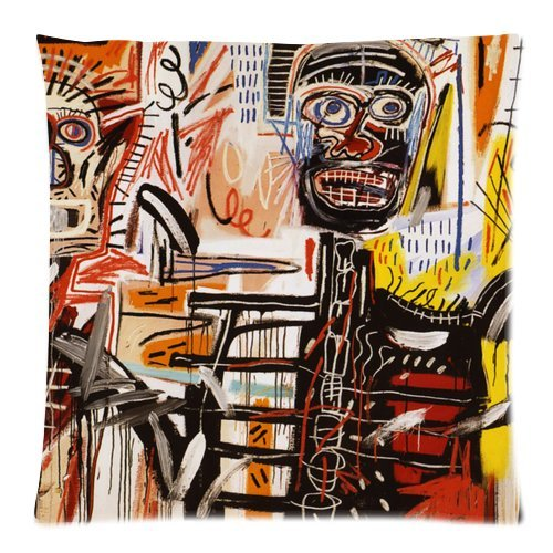Jean michel Basquiat Zippered Kussensloop Case Kussensloop 18