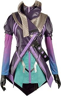 OW Hacker Sombra Nanosuit Women Cosplay Costume