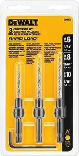 DEWALT Countersink Drill Bit Set #6, #8, #10, 3-Piece...