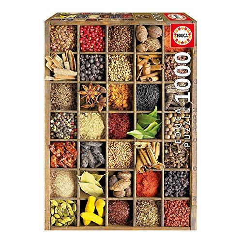 Educa 15524 Puzzle Gewürze, 1000 Teile