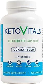 Keto Vitals Electrolyte Capsules | The Original Keto Electrolyte Supplement | Electrolyte Tablets | Eliminate Fatigue and ...