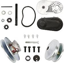 BestEquip Torque Converter 0.75 Inch Clutch Go Kart Torque Converter 10T for 40 or 41 Chain and 12T for 35 Chain Go Kart Clutch