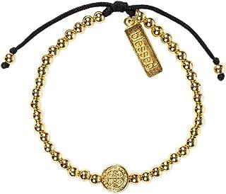 My Saint My Hero Mantra of Love Bracelet - Gold