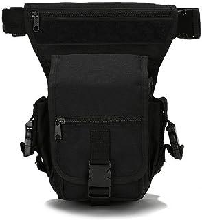 شنطة صغيرة تكتيكية منخفضة على ساق، حقيبة متعددة الاغراض من القماش العسكري، شنطة صغيرة منخفضة الساق للدراجات النارية شنطة ا...