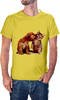 cats and dogs new modern T-shirt for men - TSM-9184