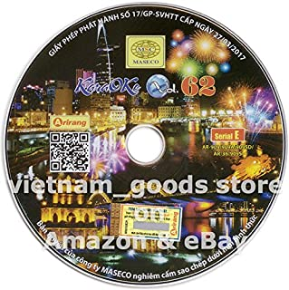Arirang Karaoke Vision Midi Disc Vol 62 Serial E Vietnamese English For Arirang Player AR 909 / AR 909 A / AR 909 SD / AR 909 S / AR 36