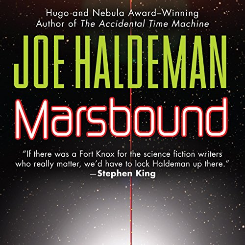 Marsbound audiobook cover art