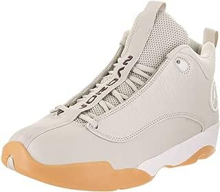 Jordan Nike Men's Jumpman Pro Quick Basketball Shoe (10 M US, Light Bone/White-Bordeaux)