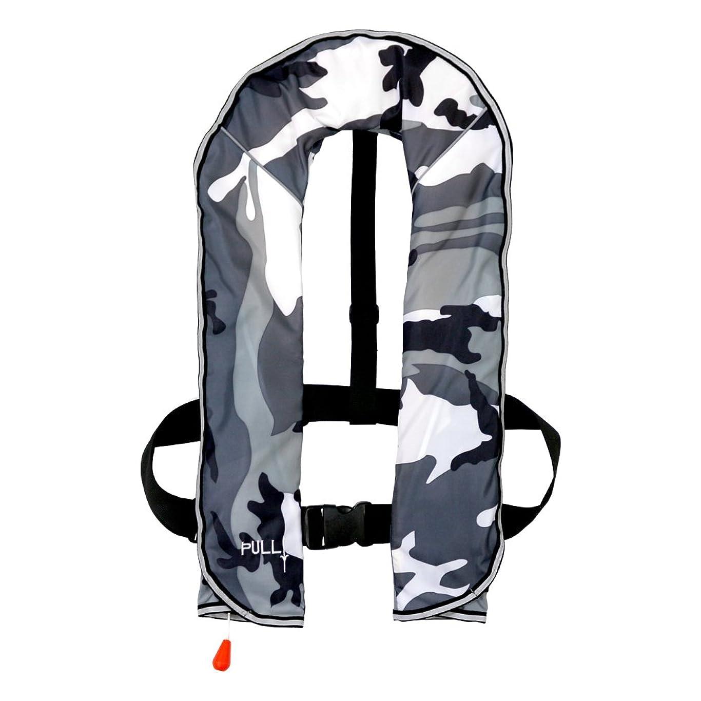 週間パーツ大騒ぎDABADA(ダバダ) ライフジャケット インフレータブル ベストタイプ 膨張式 救命胴衣 男女兼用 フリーサイズ