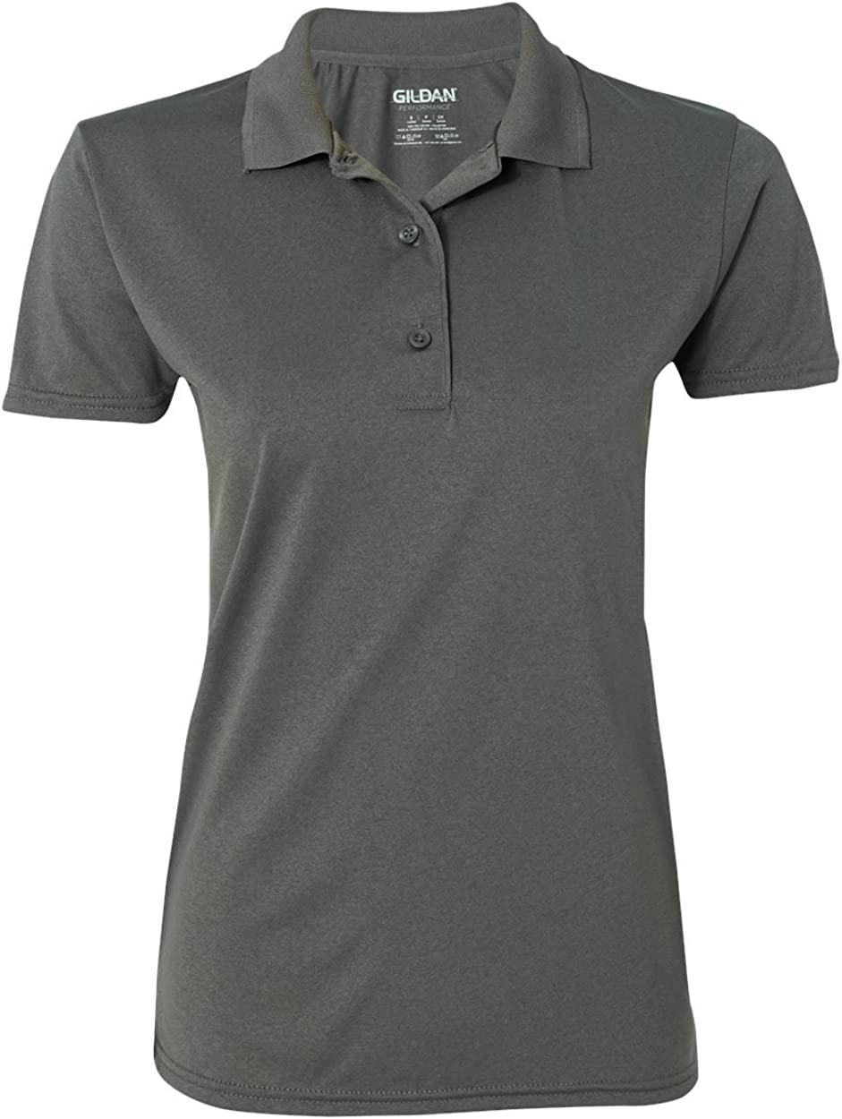 Performance 4.7 oz. Jersey Polo (G448L) Charcoal, 2XL (Pack of 12)