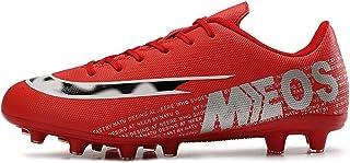 Fotbollsskor, tonåringar Rugby Outdoor Sneakers, pojkar flickor Slitstarka andningsbara fotbollspinnar för träning/tävling