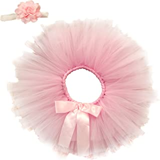 Jastore Newborn Girls Photo Photography Prop Tutu Skirt Headband Outfits