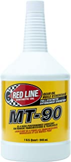 Red Line MT-90 Gear Oil- 1 Quart, Pack of 4