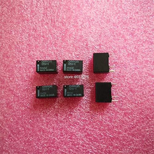 1PCS Omron G5V-1 5 VCC 12 VCC 24 VCC 6 Clavijas SPDT Mini de relé del G5V-1-5VDC G5V-1-12VDC G5V-1-24VDC 5V 12V 24V (Size : G5V 1 24VDC)