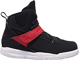 Boys' Little Kids Flight 45 High (PS) C15760-006 Black/Bym Red-White