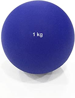 DAWSON SPORTS Indoor Shot Put (PVC) - 1kg (PVC) 1kg (33044) - Red/Blue, 1 kg