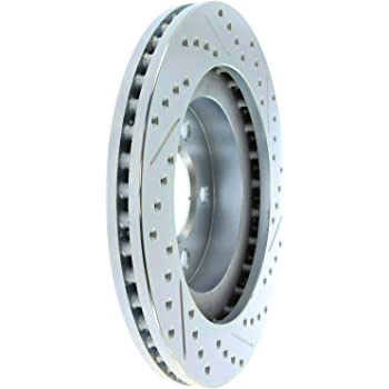 Left StopTech 227.62130R Select Sport Drilled /& Slotted Rotor