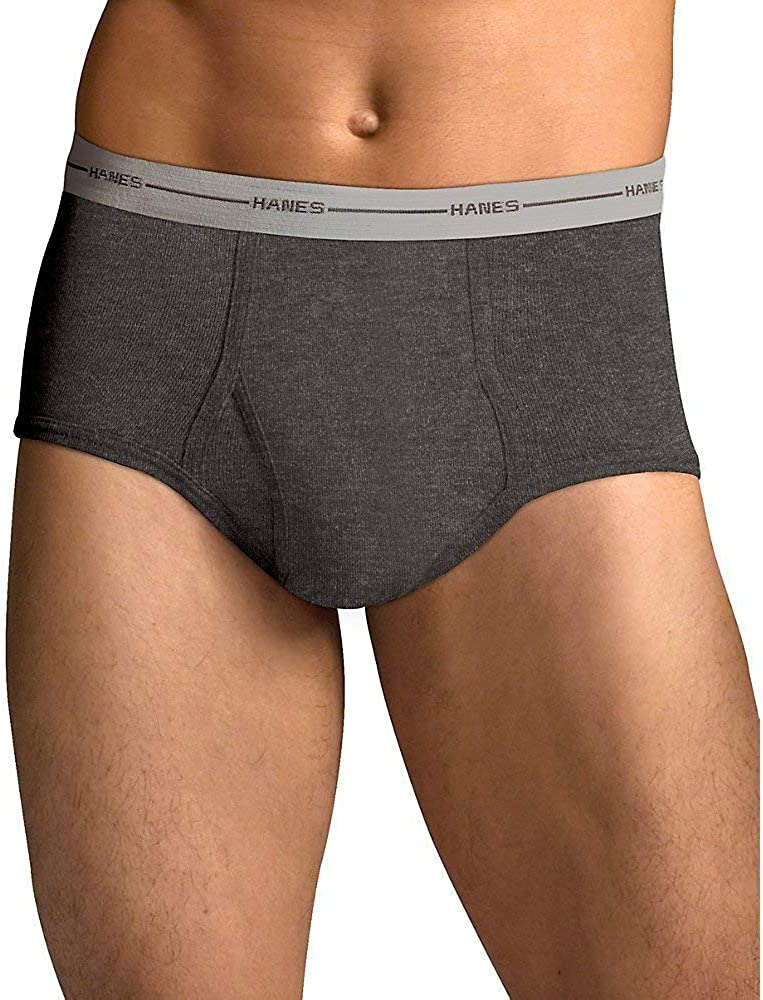 Hanes Tagless ComfortSoft Full Rise Dyed Brief with Comfort Flex Waistband (7822P6)