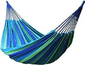TRIXES Blue and Green Portable 2 Metre Outdoor Hammock Garden Camping Travel