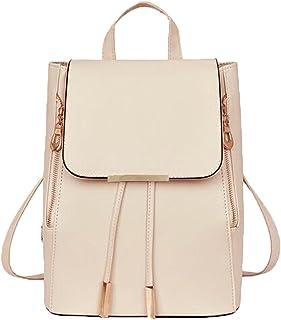 Redlicchi Backpack for women Stylish | women backpack latest | school bag for girls under | College Bag for women(cream)