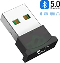 innOrca Adaptador Bluetooth para PC, USB 5.0 Adaptador Bluetooth Receptor Inalámbrico para Computadora Auriculares Estéreo para Computadora Portátil, Compatible con Windows 10/8.1/8/7 / XP/Vista