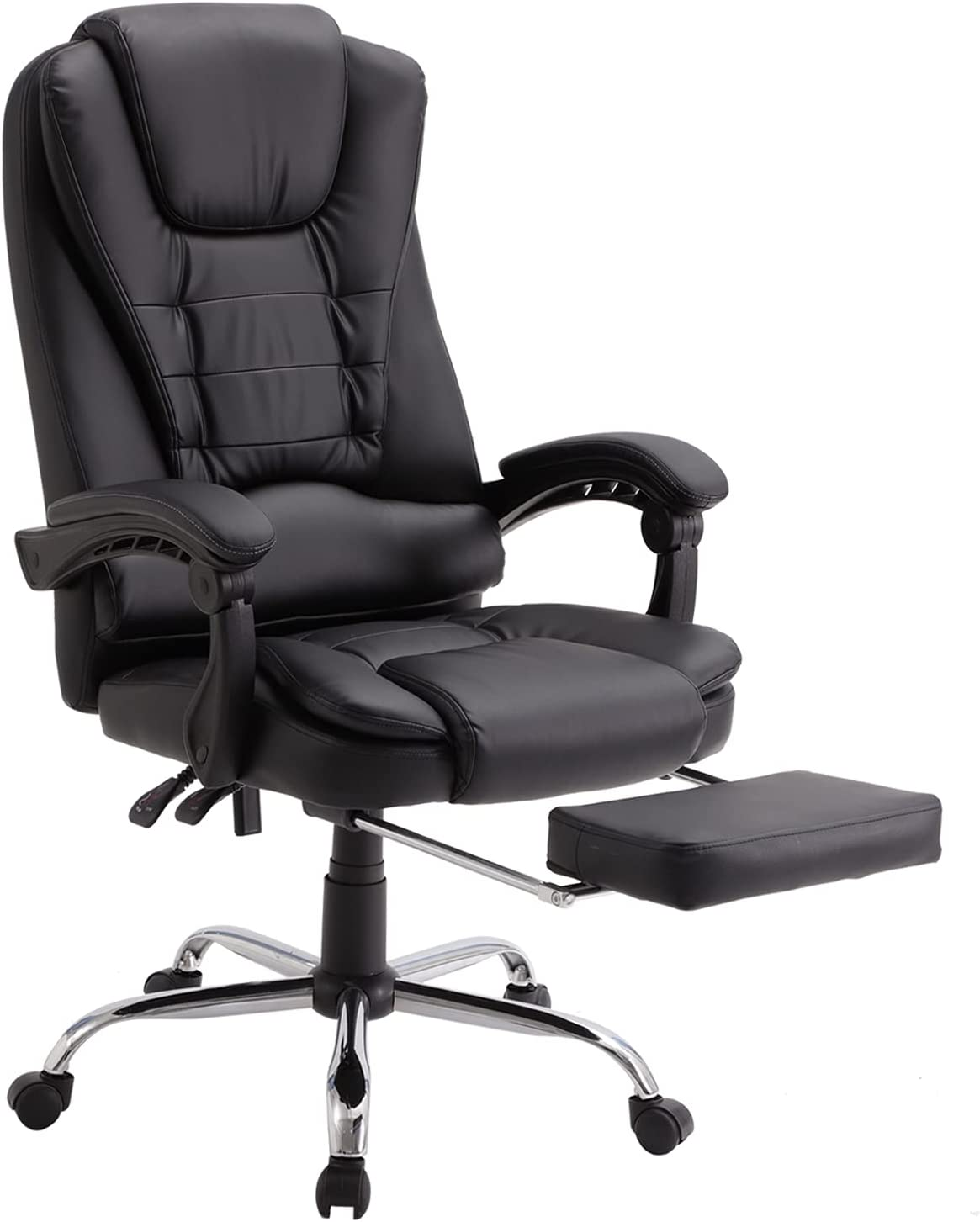 IPKIG Ergonomic Executive Office with Kansas City Mall Retractable Footrest Tucson Mall Chair