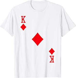 King of Diamonds Costume T-Shirt Halloween Deck of Cards