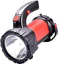 Multi-Function Strong Light Power Flashlight, USB Rechargeable Large Battery Power 10000mAh High Lumen CREE Heavy Duty Han...