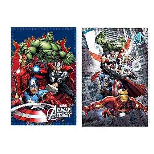 Neweyem Coperta in Pile con Motivo Avengers, 30x 12x 12cm