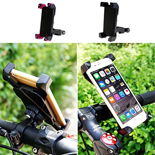 GGG-Support de téléphone Portable 360° entourer Rotatif pour Cyclisme vélo Bicyclette-Noir