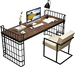 Computer Desk and Chair, Simple Table Modern Home Writing Desk Solid Wood Desk Workstation Table