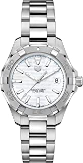 Aquaracer Automatic Mother of Pearl Dial Ladies Watch WBD2311.BA0740