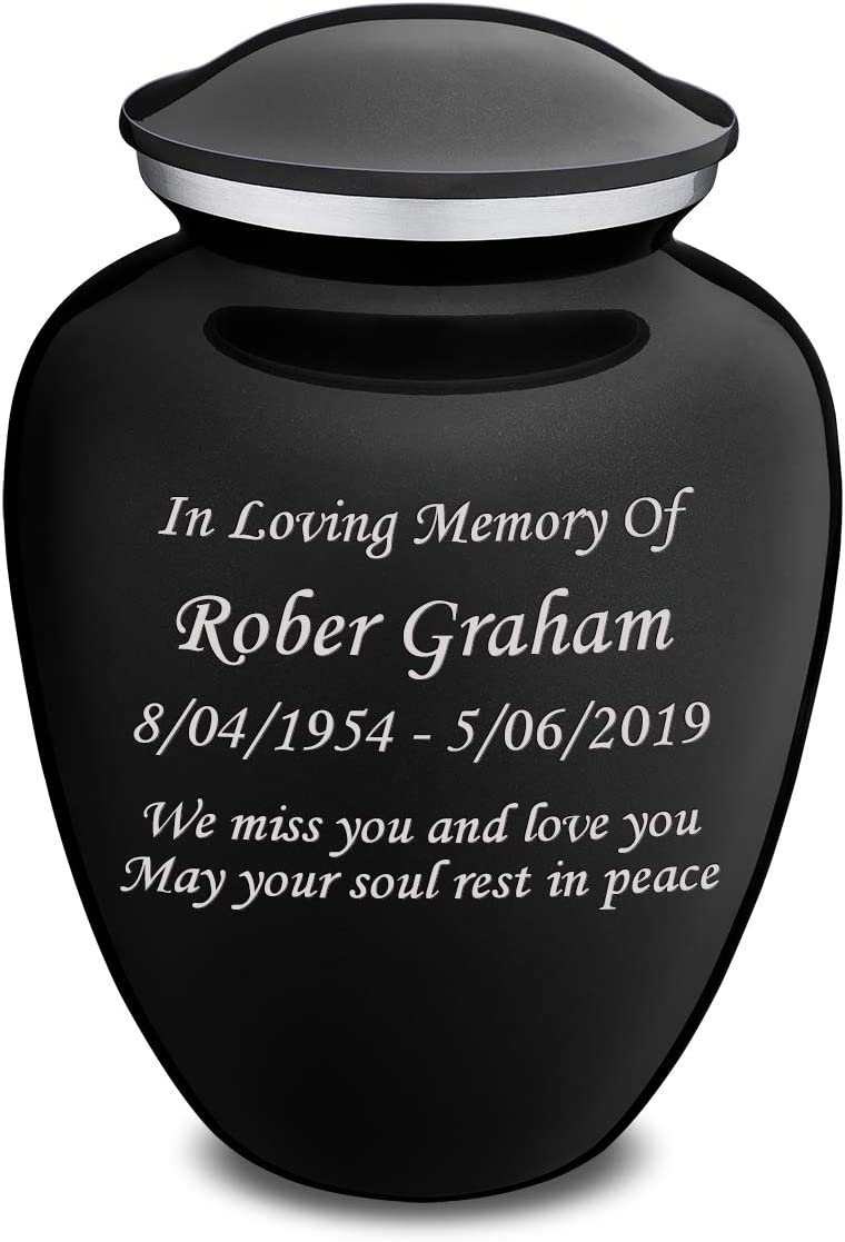 GetUrns Custom Engraved Embrace Adult Oakland Mall Many popular brands Bl Cremation Ashes Urn for