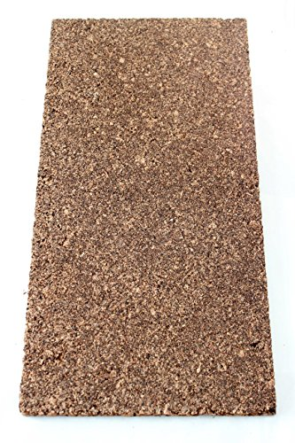 Placa de corcho aislante corcho parqué Base de insonorización 100x 50cm de grosor 20mm/Edificios aislamiento/Soporte Base/Base/EN SECO Nest Rich/aglomerado