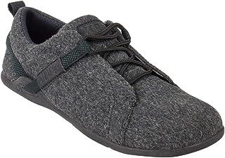Xero Shoes Pacifica - Minimalist Wool Shoe - Barefoot Inspired, Zero Drop Sole - Charcoal - Men
