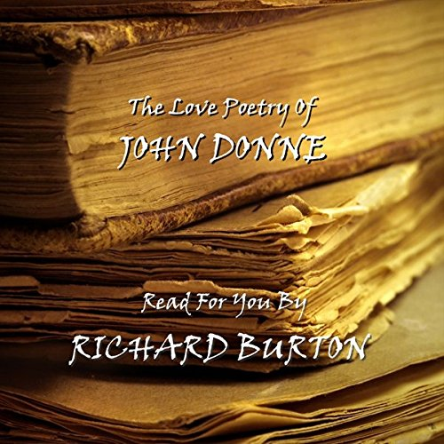 The Love Poetry of John Donne audiobook cover art