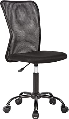 Ergonomic Office Chair Desk Chair Mesh Computer Chair Back Support Modern Executive Mid Back Rolling Swivel Chair for Women,