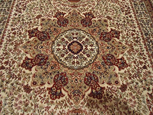 Luxury Navy Persian Silk Rugs Large 8x12 Living Room Rug Dark Blue...