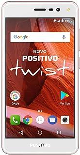 Celular Twist S-511 Dual, Positivo, 3900701, 16GB, 5, Rosa