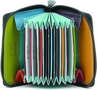 Golunski Petit Super Doux Cuir Carte De Crédit /& coin Zip Sac à main plusieurs couleurs
