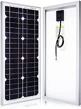 Powereco 25 Watt 25W Mono Solar Panel for 12 Volt Battery Charging, Off Grid