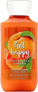 Bath & Body Works Get Happy White Peach Sangria Body Lotion, 8 Ounces