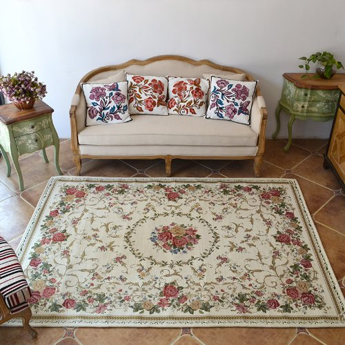 Rustic Vintage Traditional Area Rug