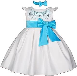 Cinda Vestitino da cerimonia con fascia per ragazze