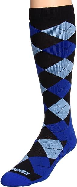 Argyle Compression Socks